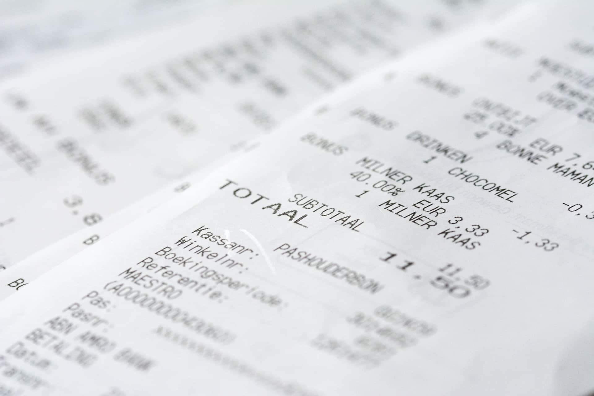 Kassenbonpflicht gegen Steuerbetrug